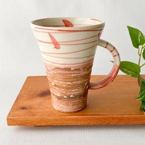 Ceramic coffee latte tea mug unique texture